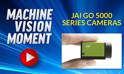 Machine Vision Moment - JAI GO 5000 Series Cameras